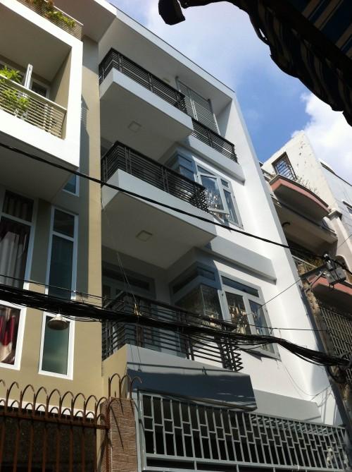 Bán nhà Huỳnh Mẫn Đạt Phạm Viết Chánh Quận Bình Thạnh DT 4x20m trệt 3 tầng Giá 14.5 tỷ