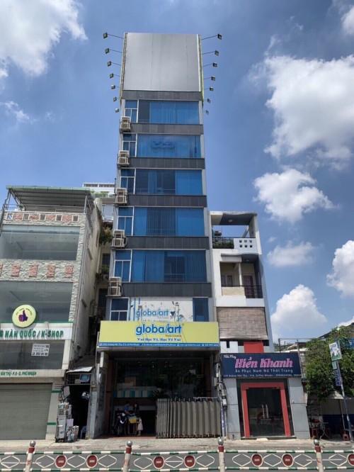 Bán tòa nhà văn phòng mặt tiền ngay Nguyễn Văn Trỗi P10 Q Phú Nhuận DT  7*25m Hầm 8 tầng Giá  118 tỷ TL